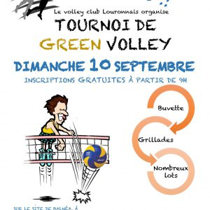 affiche green volley 2017