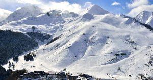 Ouverture de la station de ski de VAL LOURON