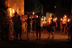 Visite nocturne de Loudenvielle avec le Pays d'Art et d'Histoire