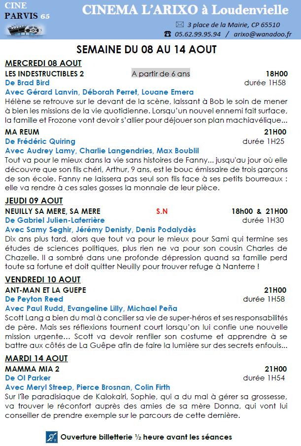 programme-cinema-arixo-du-08-au-14-aout