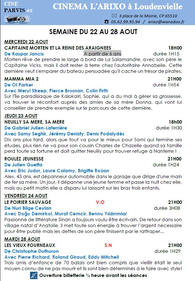 programme-cinema-arixo-du-22-au-28-aout