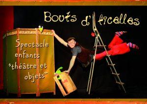 Spectacle pour enfants : clown, théâtre et objets