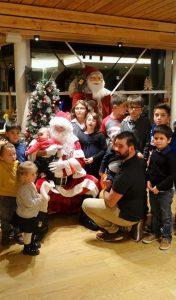Le Père Noël s'est arrêté à Balnéa