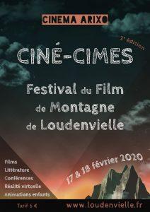 ( Sous réserve) Ciné-Cimes : Festival du film de montagne de Loudenvielle