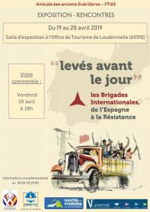Exposition Brigades Internationales