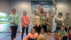 Le club de tennis du Louron toujours très actif