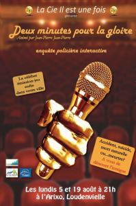 Théâtre : enquête policière interactive