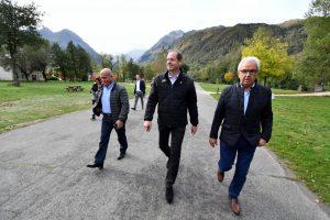 Tour de France : Christian Prudhomme en visite à Loudenvielle